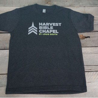 Harvest Bible Chapel Youth Charcoal T-Shirt
