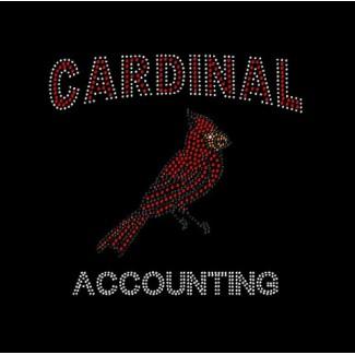 Cardinal Accounting Bling Shirt