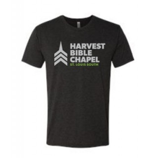 Harvest Bible Chapel Charcoal T-Shirt