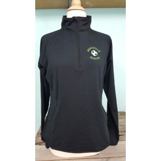 Mehlville Soccer Black Dri Fit Quarter Zip