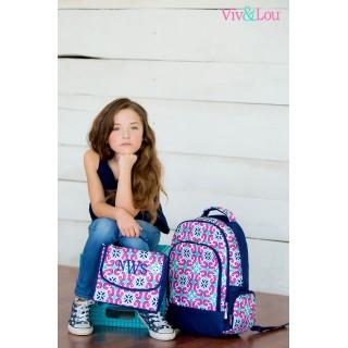 Mia Tile 2 pc Backpack Set