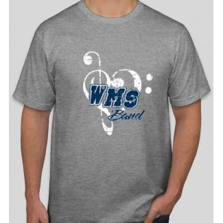 WMS Band Gray T shirt