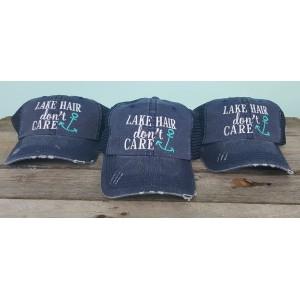 Lake Hair Don't Care Hat