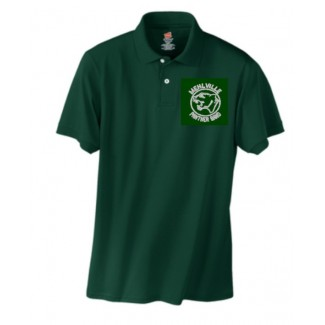 Mehlville Band Forest Green Polo