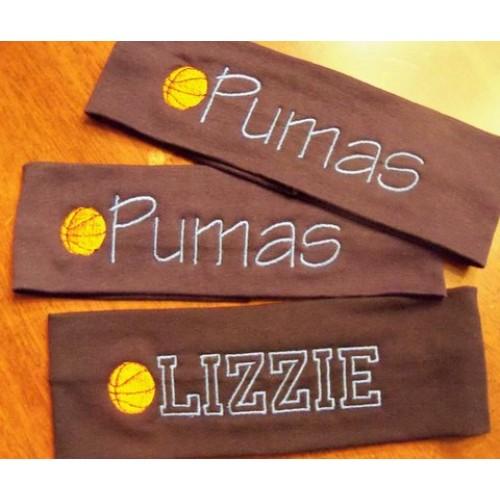 Basketball Personalized Stretch Headband