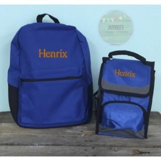 Boys Backpack Set