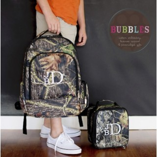 Camo Backpack and Lunchbag  Set