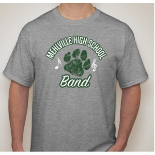 Gray Mehlville Band T Shirt