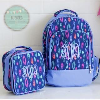Leopard Backpack Set