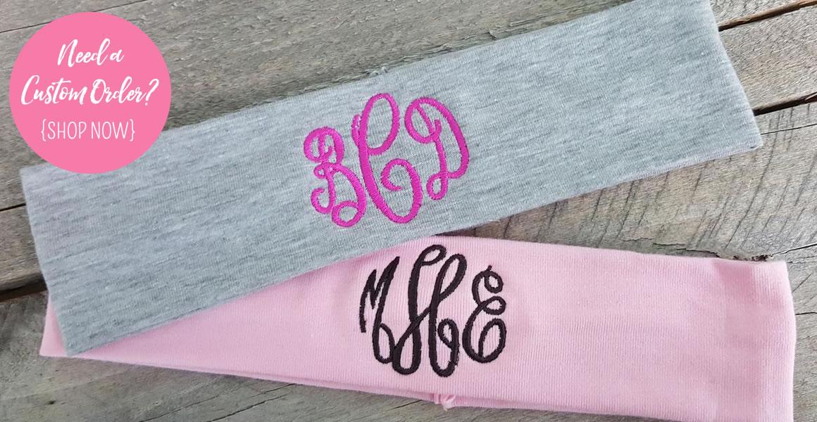 Custom Order Headbands