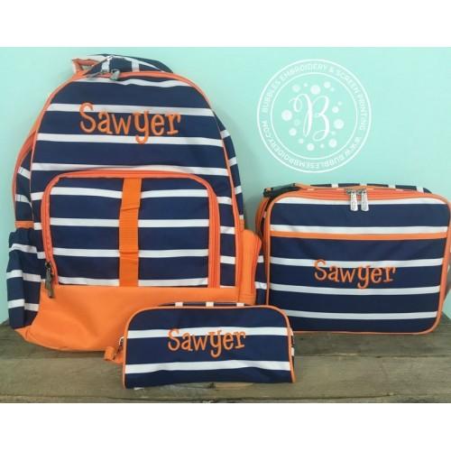 Line Up 3 pc Backpack Set