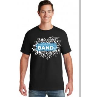 WMS Black Band T Shirt