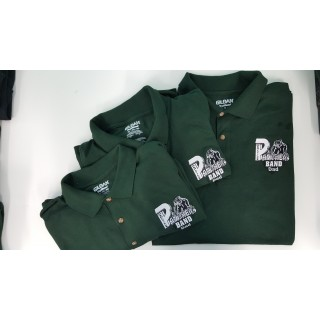 Mens Mehlville Band Polo Short Sleeve