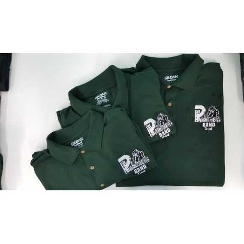 Mens Mehlville Band Polo Long Sleeve