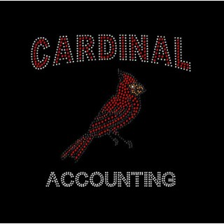 Cardinal Accounting Bling Shirt