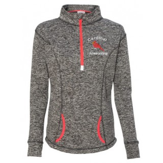 Cardinal Accounting Embroidered 1/4 Zip Cosmic Fleece
