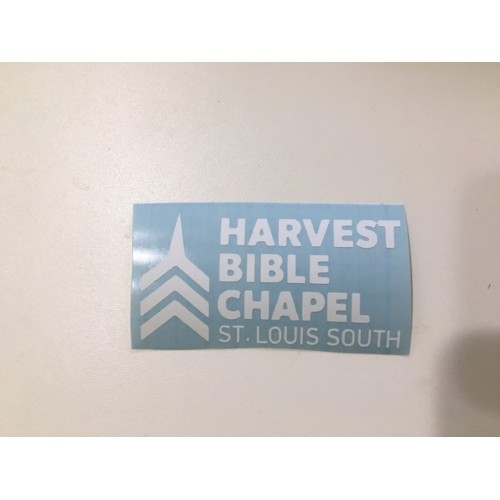 Harvest Bible Chapel Car Decal