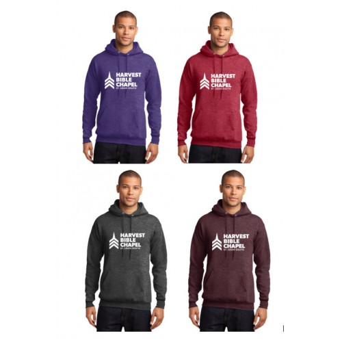 Harvest Bible Chapel Heather Hoodie