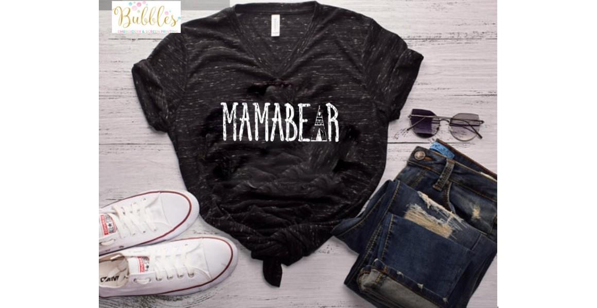 Mama Bear T Shirt
