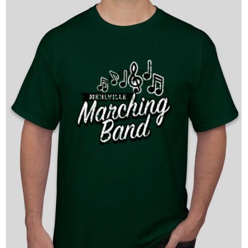 Mehlville Band Forest Green T Shirt