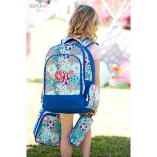 Garden Party 3 pc Backpack Set