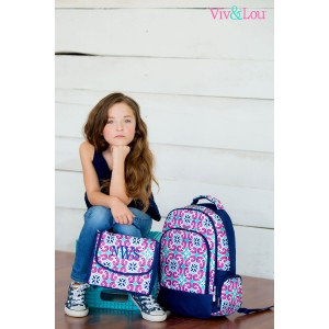 Mia Tile 2 pc Backpack Set