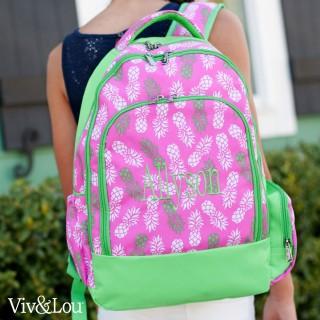 Pineapple of My Eye 2 pc Backpack Set