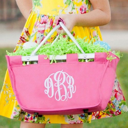 Monogrammed Easter Baskets / Totes