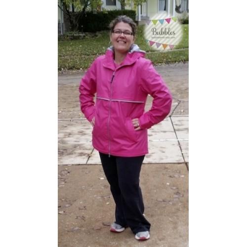Charles River Full Zip Rain Coat