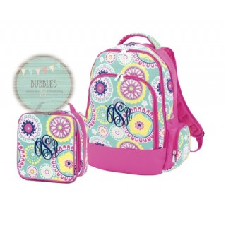 Flower Backpack Set