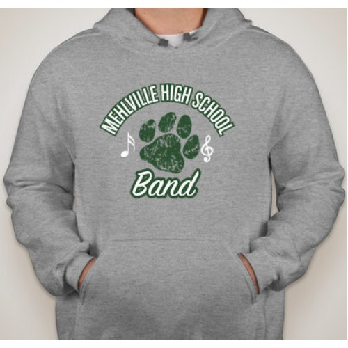 Gray Mehlville Band Hoodie