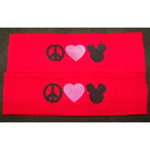I Heart Mickey Mouse Stretch Headband