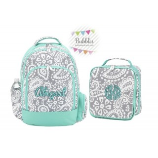 Paisley Backpack Set